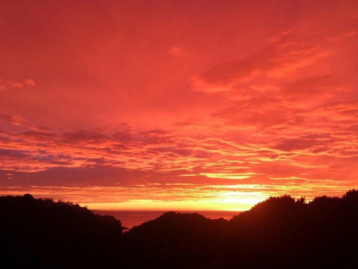Image result for sunset at rakiura