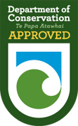 Department of Conservation approved logo