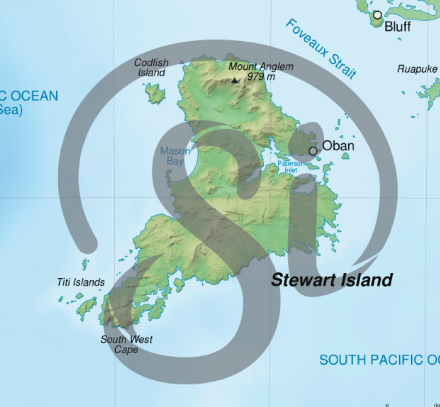 Graphic on Island Map Crop